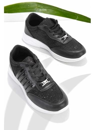 Bambi Kadın Sneaker K01543300078 Siyah